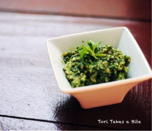 Simple Walnut Basil Pesto